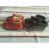 2 in 1 red green kids shoes fur warm winter shoes sale price only 60$