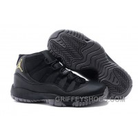 Charcoal Black And Gold Jordan 11 Men Basketball Shoes Free Shipping Discount XSfmAaG