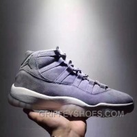 Air Jordan 11 Space Jam Grey Suede Limited Edition For Sale NWGws