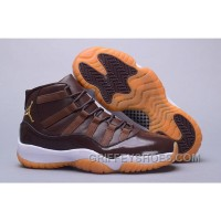 Air Jordan 11 Hamilton Chocolate Gum Cheap To Buy ABkZf2