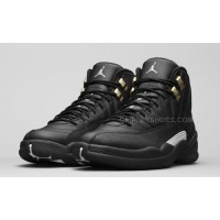 "Air Jordan 12 ""The Master"" Black Golden"