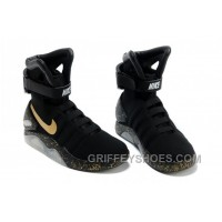 Nike Air Mag Back To The Future Limited Edition Shoes Black Gold New Release Z64bw