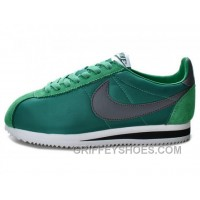 Nike Classic Cortez Nylon Dark Atomic Teal Black White Authentic CwD3e