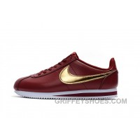 NIKE CORTEZ NYLON PRM Burgundy Cheap To Buy 2ccJAFZ
