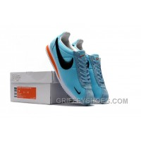 NIKE CORTEZ NYLON PRM Blue Embroidery New Style NQY6dK