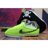 Hot Sell Popular Womens Nike Cortez Mesh Yellow Black Jogging Shoes Fashionable Super Deals FB3TdY