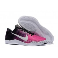 Nike Kobe 11 Black/Think Pink-White Cheap Online KXBx7
