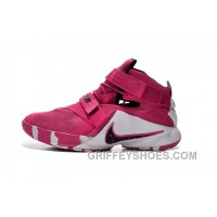 Nike Zoom LeBron Soldier 9 Think Pink Black And White Xckrt