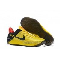 Cheap Nike Kobe A.D. 12 Yellow Black Red New Style ICyxpp