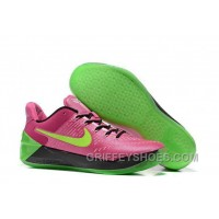 Cheap Nike Kobe A.D. 12 Pink Flash Green Red Top Deals 5H6JDj7