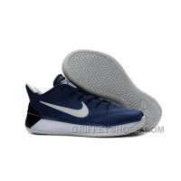 Cheap Nike Kobe A.D. 12 Navy Blue Black White Free Shipping 7sTWf