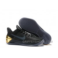 Cheap Nike Kobe A.D. 12 Limited Edition Black Gold New Style B3KbBB