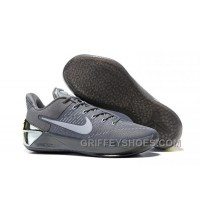 Cheap Nike Kobe A.D. 12 Cool Grey White 852425-010 Online KFBMBw