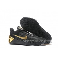 Cheap Nike Kobe A.D. 12 Black Gold Best B73JH
