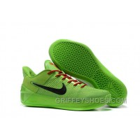 Cheap Nike Kobe A.D. 12 All Green Black Red New Style TKTDtfH