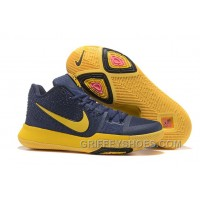 Nike Kyrie 3 Mens BasketBall Shoes Cavs Yellow Online IZ6nz