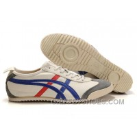 New Women Onitka Tiger Mexico 66 Deluxe Beige Blue Red