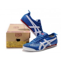 Women Mexico 66 Shoes Blue White Red Cheap