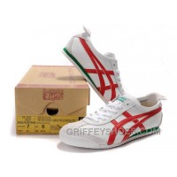 Women Mexico 66 Shoes White Red Green New