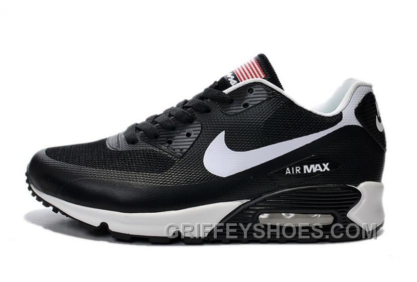 Air MAX 90 Nike American Flag Blue Men Running Shoes Discount BMMjzCf